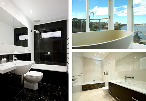 our bespoke bathrooms - Bathroom Design Sydney